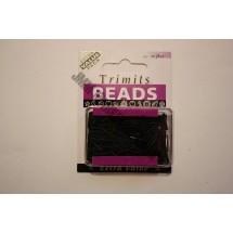 Bugle Beads - Black