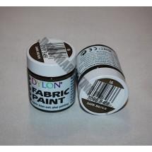 Dylon Colourfun Fabric Paints 25ml - Dark Brown
