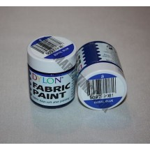 Dylon Colourfun Fabric Paints 25ml - Royal Blue