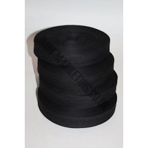 "Cotton Tape 25mm (1"") - Black"