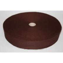 "Polyester Webbing 1"" (25MM)  - Brown - Roll Price"