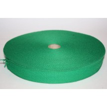 "Polyester Webbing 1"" (25MM)  - Emerald Green - Roll Price"