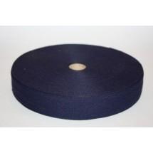 """Polyester Webbing 1"""" (25MM) - Navy"""