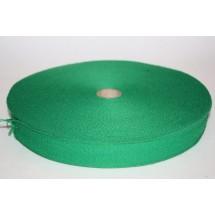 "Polyester Webbing 1 1/2"" (37MM) - Emerald Green - Roll Price"