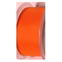 """Seam Binding Tape - 25mm (1"""") - Orange (179)"""