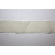 """Velvet Ribbon 16mm (5/8"""") - Cream"""