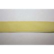 """Velvet Ribbon 22/25mm (1"""") - Yellow"""