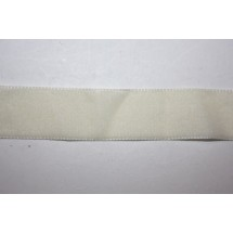 """Velvet Ribbon 22/25mm (1"""") - Cream"""