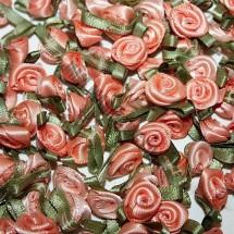 Ribbon Roses - Small - Peach