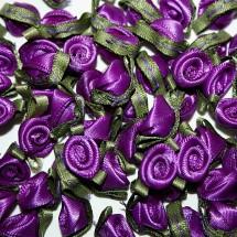 Ribbon Roses - Small - Purple