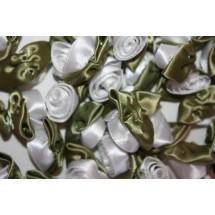 Ribbon Roses - Large - White