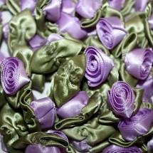 Ribbon Roses - Large - Lilac
