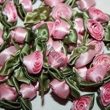 Ribbon Roses - Large - Pink