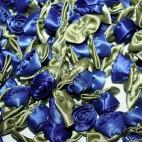 Ribbon Roses - Large - Royal Blue