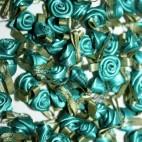 Ribbon Roses - Large - Jade