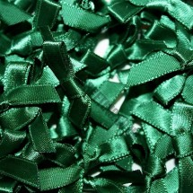 Small Ribbon Bow - Emerald