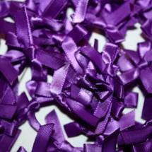 Small Ribbon Bow - Purple