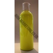 Scolart Fluorescent Fabric Paint 500ml - Yellow