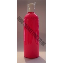 Scolart Fluorescent Fabric Paint 500ml - Pink