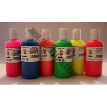 Scolart Fluorescent Fabric Paint 150ml Pack