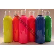 Scolart Fluorescent Fabric Paint 500ml Pack
