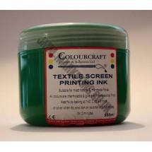 Colourcraft Screen Printing Ink 500ml - Green