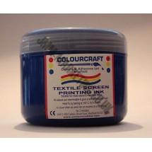 Colourcraft Screen Printing Ink 500ml - Blue