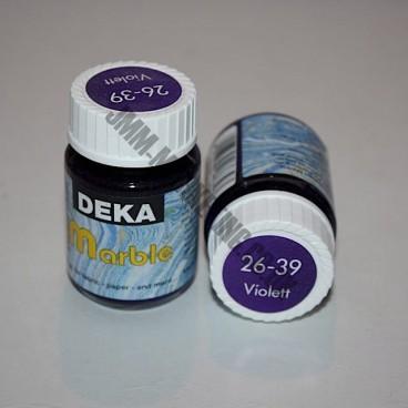 Deka Marble Paint 20ml - Violet