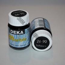 Deka Marble Paint 20ml - Black