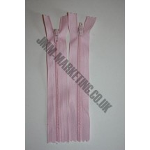 """Nylon Zips 8"""" (20cm) - Light Pink"""