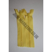 """Nylon Zips 14"""" (36cm) - Yellow"""