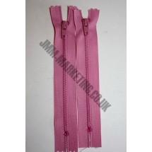 "Nylon Zips 14"" (36cm) - Dusky Pink"