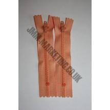 """Nylon Zips 16"""" (41cm) - Peach"""