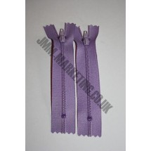 "Nylon Zips 18"" (46cm) - Lilac"