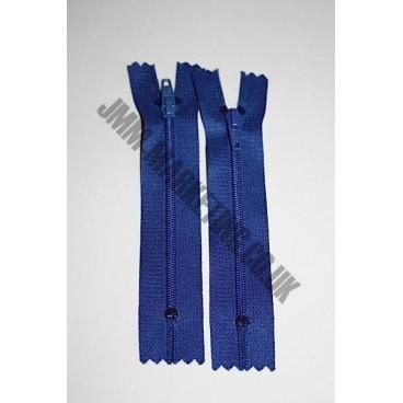 "Nylon Zips 20"" (51cm) - Royal Blue"