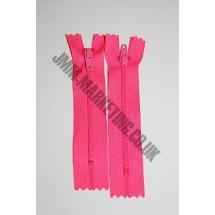 "Nylon Zips 22"" (56cm) - Cerise"