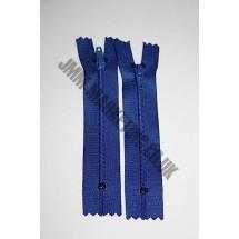 "Nylon Zips 22"" (56cm) - Royal Blue"