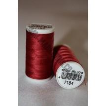 Coats Duet Thread 100m - Burgundy 7184 (S129)