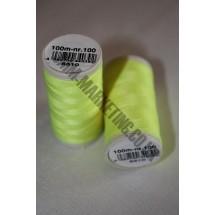 Coats Duet Thread 100m - Fluorescent Yellow 6510 (S023)