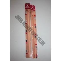 "Optilon Concealed Zips 12"" (30cm) - Peach"