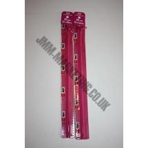 "Optilon Concealed Zips 12"" (30cm) - Cerise"