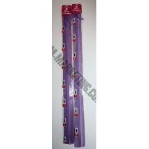 "Optilon Concealed Zips 12"" (30cm) - Purple"