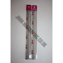 "Optilon Concealed Zips 12"" (30cm) - Light Grey"