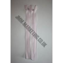 "Optilon Concealed Zips 16"" (41cm) - Baby Pink"