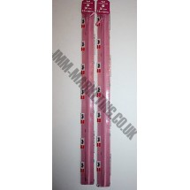 "Optilon Concealed Zips 20"" (51cm) - Dusky Pink"