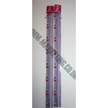 "Optilon Concealed Zips 20"" (51cm) - Lilac"
