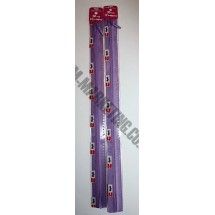 "Optilon Concealed Zips 20""  (51cm)- Purple"