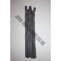"Optilon Concealed Zips 20"" (51cm) - Dark Grey"