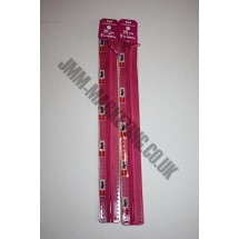 "Optilon Concealed Zips 22"" (56cm) - Cerise"
