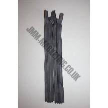 "Optilon Concealed Zips 22"" (56cm) - Dark Grey"